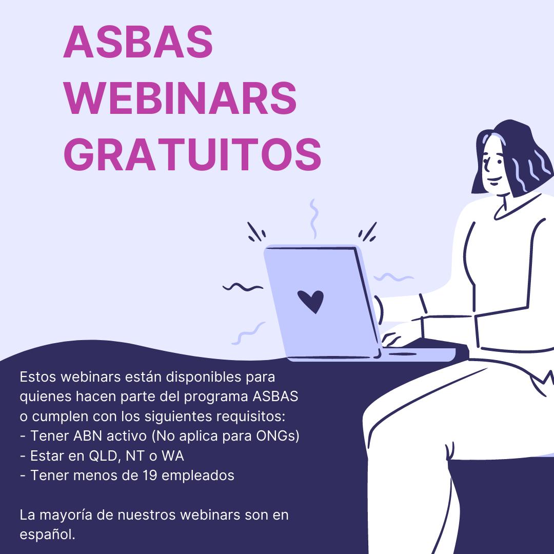 ASBAS Andrea Restrepo Webinars